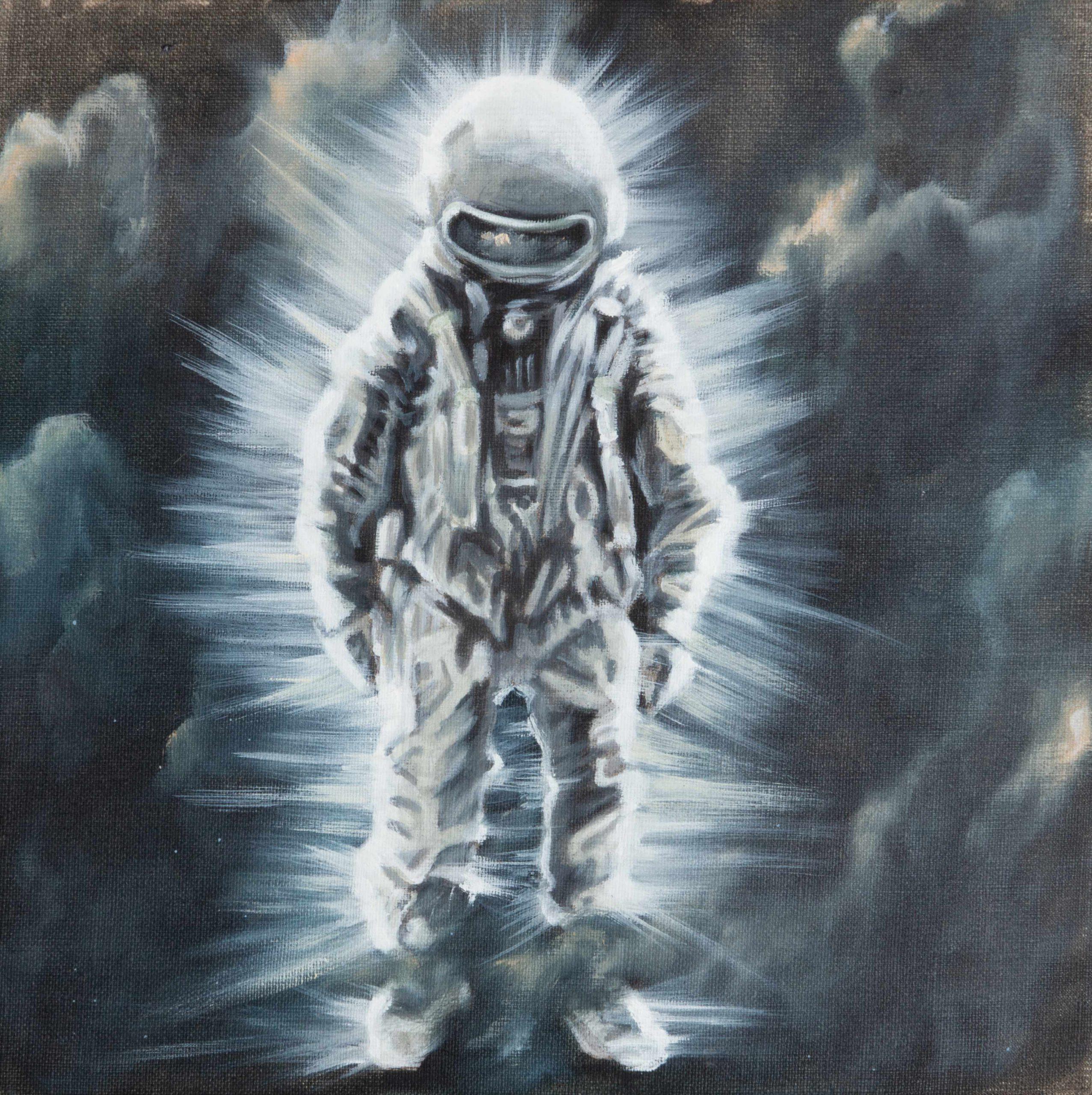 Astronaut im Licht
