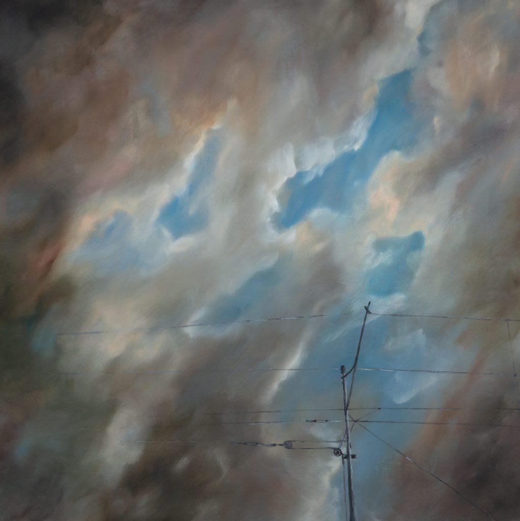 Himmel zieht auf oder zu